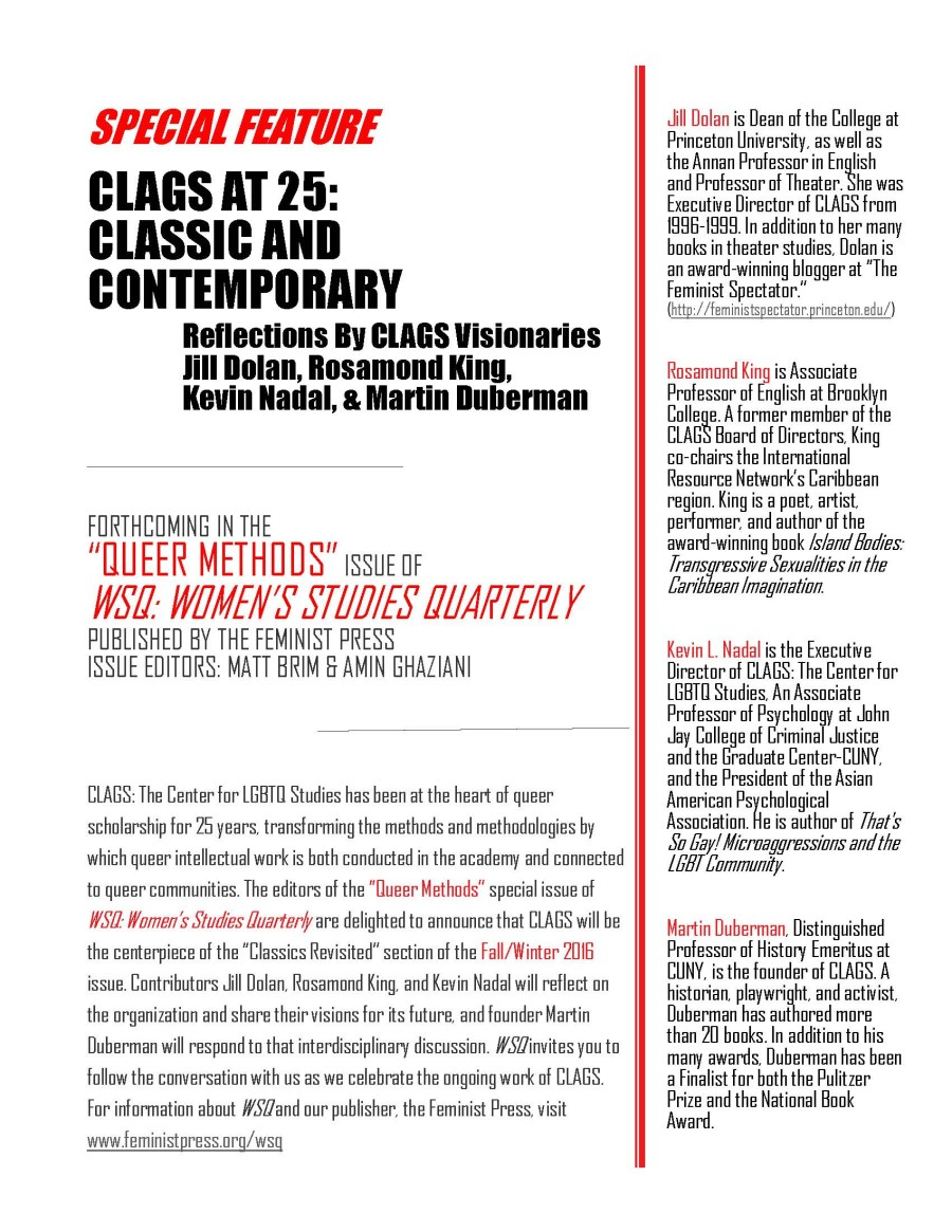 Flyer for CLAGS Anniversary Conf_REVISED